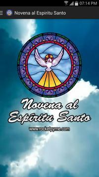 Novena al Espíritu Santo poster