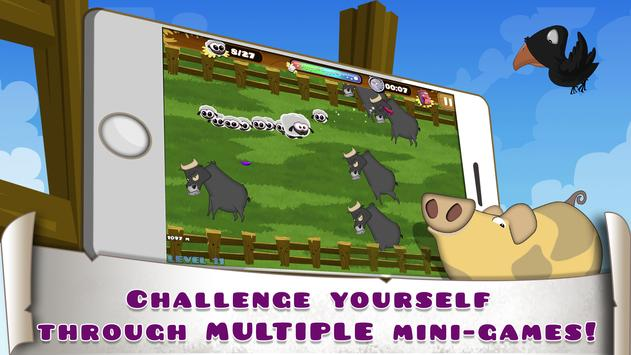 Sheep adventure - Hay Ewe apk screenshot