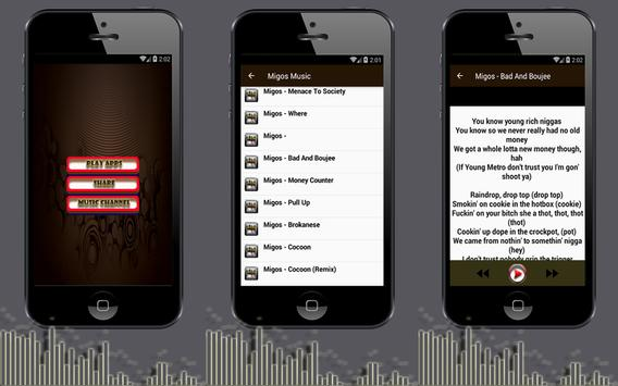 T-Shirt Migos Songs for Android - APK Download