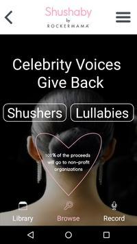 The Shushaby App - By RockerMama screenshot 2