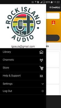 Rock Island Audio apk screenshot