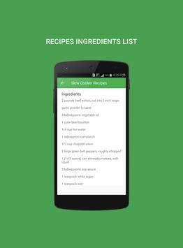 Slow Cooker Recipes apk screenshot