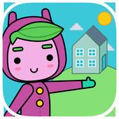 Rocu House: House kids stories icon