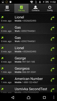 Roammate Phone VoIP App screenshot 1