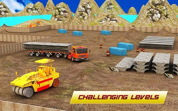 Bridge Construction 3D : Real City Crane Simulator screenshot 3