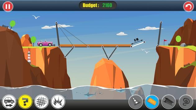 Road Builder: Construct A Bridge poster