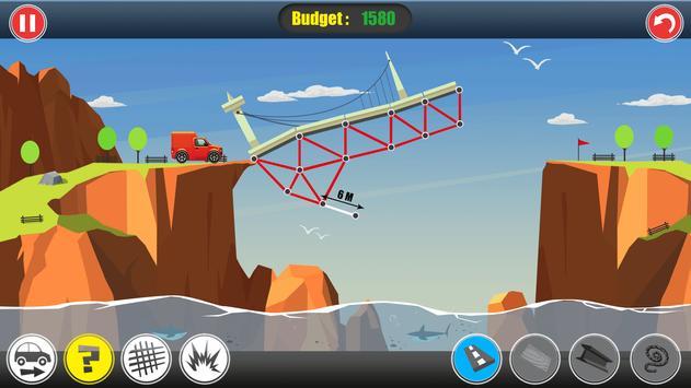 Road Builder: Construct A Bridge screenshot 1