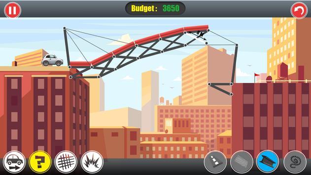 Road Builder: Construct A Bridge screenshot 2