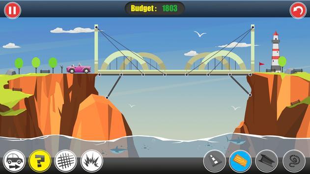 Road Builder: Construct A Bridge screenshot 4