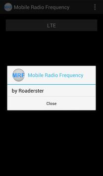 Mobile Radio Frequency poster