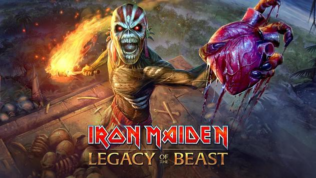 Maiden: Legacy of the Beast poster