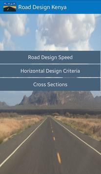 Road Design Kenya poster