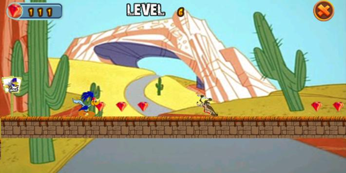 Coyote catches RoadRunner apk screenshot