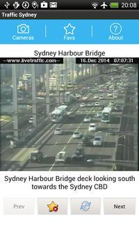 Traffic Cam Sydney FREE poster