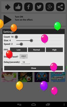 Balloons On Screen apk screenshot