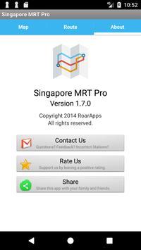 Singapore MRT and LRT FREE screenshot 4