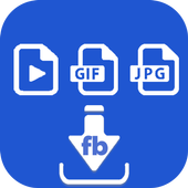 Save Video Gif Photo From FB icon
