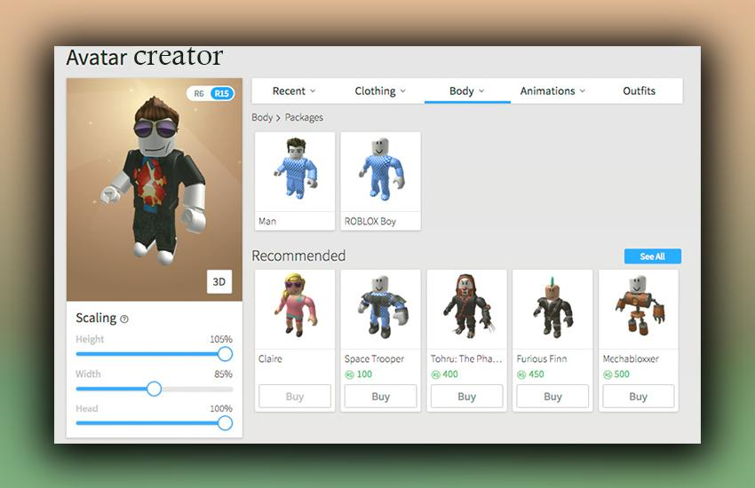 Robloks Avatar Creator For Android Apk Download