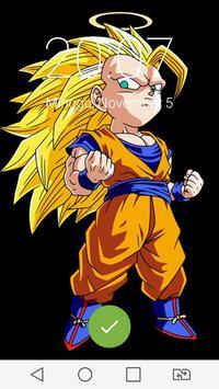 Goku Super Dragon Lock Screen screenshot 2