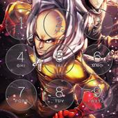 Saitama Anime Puch Lock Screen icon