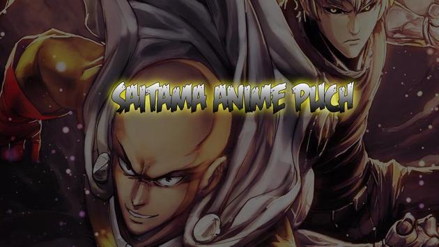Saitama Anime Puch Lock Screen apk screenshot