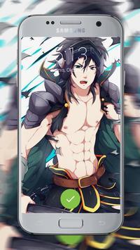 Anime Cool Boys Lock Screen poster