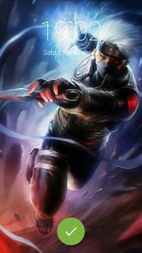 Naru Ninja Hokage Lock Screen apk screenshot