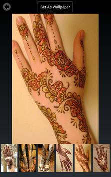 Mehndi Design Wallpapers screenshot 2
