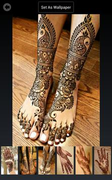 Mehndi Design Wallpapers screenshot 7