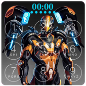 Robot Battle Lock Screen Live Wallpaper icon