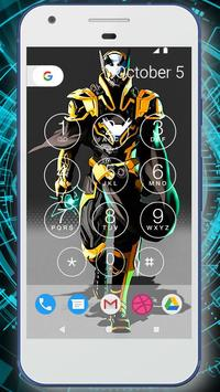 Robot Battle Lock Screen Live Wallpaper screenshot 4