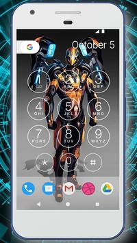 Robot Battle Lock Screen Live Wallpaper screenshot 6