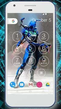 Robot Battle Lock Screen Live Wallpaper screenshot 1