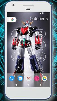 Robot Battle Lock Screen Live Wallpaper screenshot 2