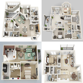 Apartment Floor plan icon
