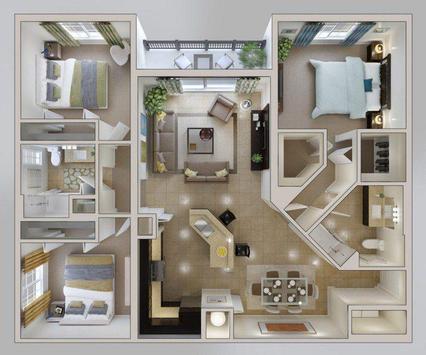 Apartment Floor Plan APKDownload Kostenlos Kunst Design APP Für Delectable Apartments Design Plans