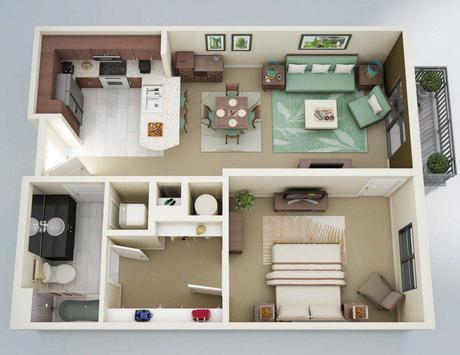 Apartment Floor plan screenshot 2