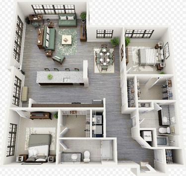 Apartment Floor plan screenshot 3