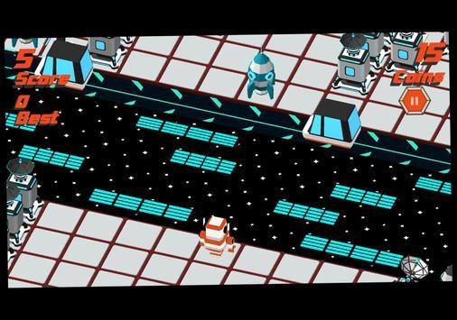 Robot Crossy Road screenshot 6