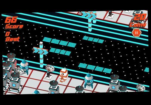 Robot Crossy Road screenshot 8