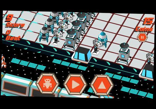 Robot Crossy Road screenshot 9