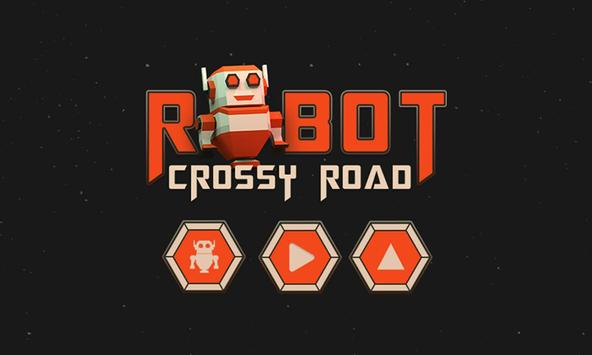 Robot Crossy Road poster