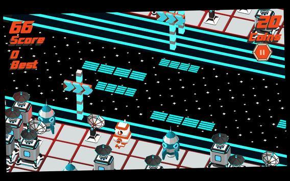Robot Crossy Road screenshot 13