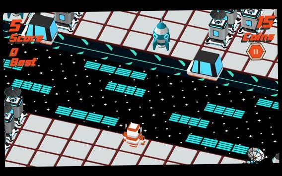 Robot Crossy Road screenshot 11
