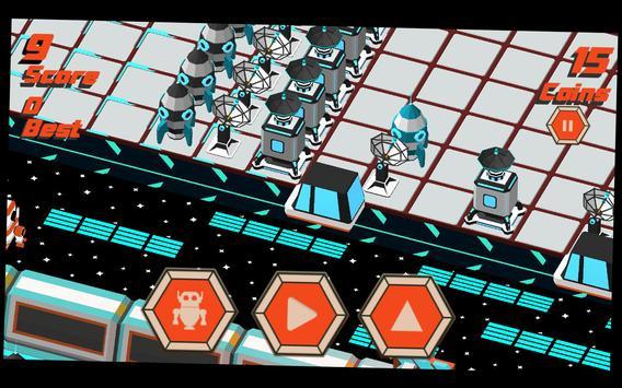 Robot Crossy Road screenshot 14