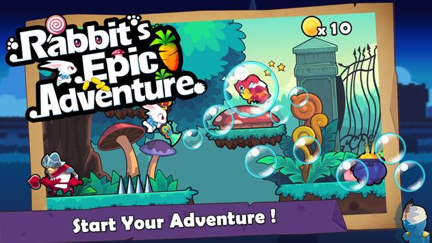 Rabbit's Epic Adventure apk screenshot