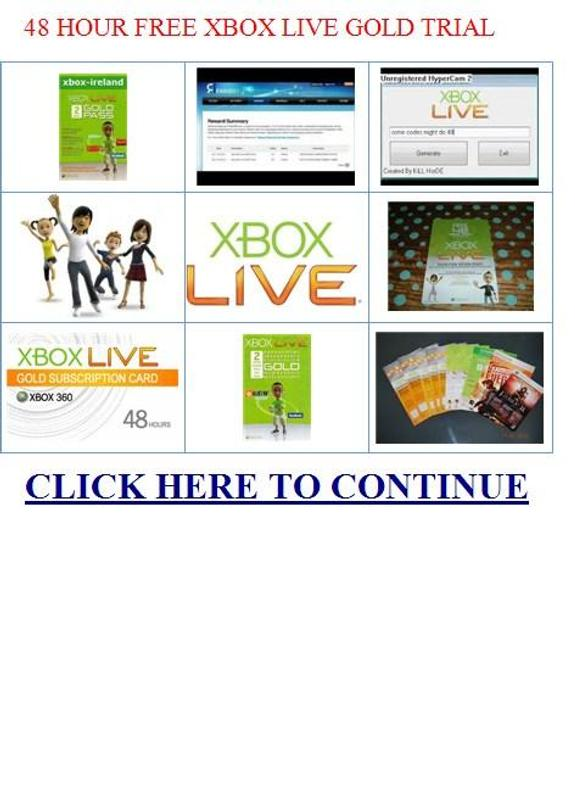 how to get xbox live free trial