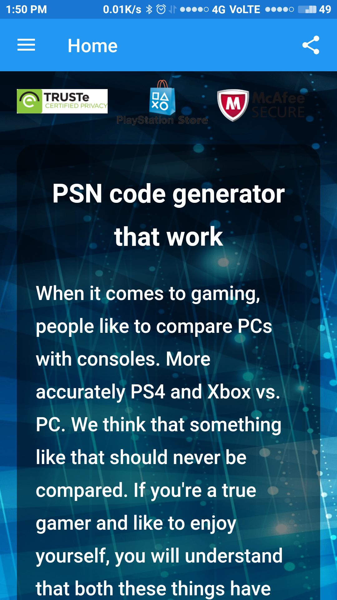 All psn code generator for Android - APK Download