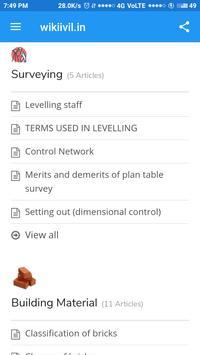 Wikicivil Learning screenshot 1