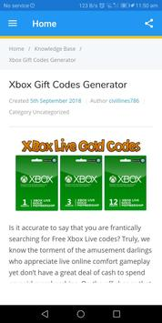 Free Xbox Code Generator Tricks for Android - APK Download